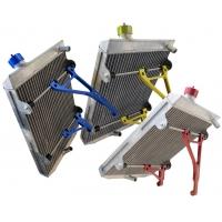 Radiatore AF TWENTY-1 - LARGE - con Attacchi Anodizzati Colorati