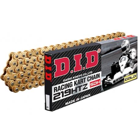 Chain DID 219 KF OK 125cc 60cc HTZ G&G (GOLD & GOLD)