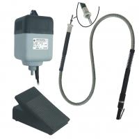 Kit Tiller Motor + Pedal + Flexible Shaft DE GIORGI 180W - 25.000 RPM