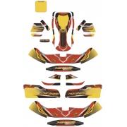 Stickers Kit Maranello OK OKJ KZ (Bodyworks NA3), mondokart
