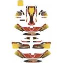 Kit Adhesivos Maranello OK OKJ KZ (Carenados NA3), MONDOKART