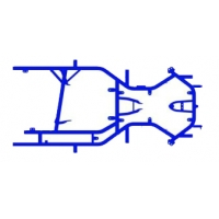 Rahmenchassis Praga Mini Monster EVO 3