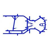 Chasis Desnudo Praga Mini Monster EVO 3, MONDOKART, kart, go