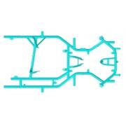 Chasis Desnudo Formula K - FK - Mini Monster EVO 3, MONDOKART