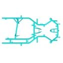 Bare Frame Formula K - FK - Mini Monster EVO 3, mondokart