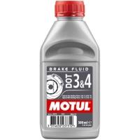 Olio Freni Motul DOT3 DOT4 500ml