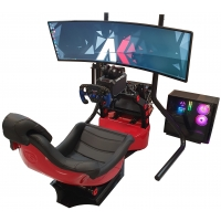 Complete Gaming KIT F1 - Fanatec / Rs by AK Informatica - Professional Simulator