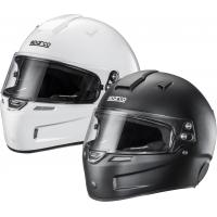 Sparco Helmet Fiberglass KF-5W (white or black)