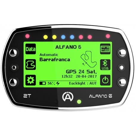 Alfano 6 - Telemetry Laptimer, MONDOKART, kart, go kart