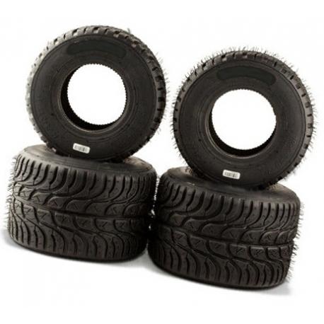 Set Neumáticos Easykart 100/125 lluvia, MONDOKART, kart, go