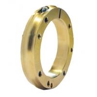 Achsträger Flansch 50 4F Gold Alluminium R-Line CRG