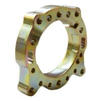 Axle support Flange 50 GLM Gold Alluminium CRG