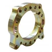 Achsträger Flansch 50 GLM Gold Alluminium CRG, MONDOKART, kart