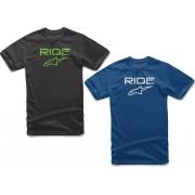 T-Shirt Shirt RIDE Alpinestars, mondokart, kart, kart store