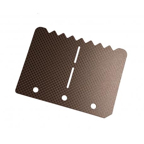 "Membrane Carbon KZ Universal ""Gezackte"", MONDOKART, kart, go"