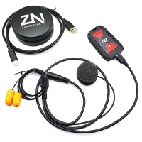 Kit Intercomunicacion Kart OMP Zeronoise PIT-LINK PRO