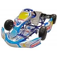 Kart Completo Top-Kart KID KART 50cc - BlueBoy (Senza Gomme, Senza Motore)