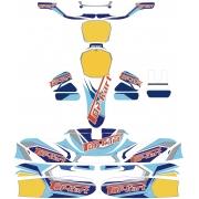 "Kit Adhesivos KG 506 Top-Kart OK OKJ KZ Version ""X"", MONDOKART"