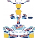 "Bodyworks Stickers KG 506 Top-Kart OK OKJ KZ Version ""X"""