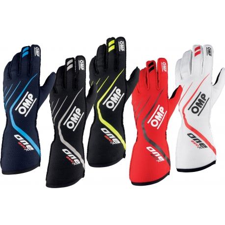 Gloves OMP ONE EVO Autoracing Fireproof, mondokart, kart, kart