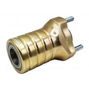 Buje Delantero 25 mm Magnesio (Rodamiento) x 93mm, MONDOKART