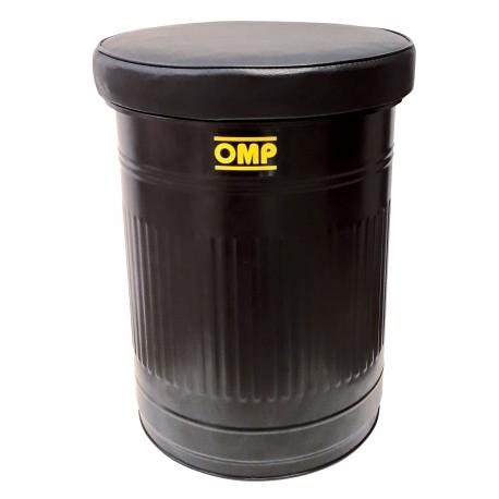 Pouf con contenitore OMP, MONDOKART, kart, go kart, karting
