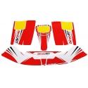 Bodyworks Stickers BirelArt Easykart 50cc NEW