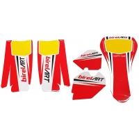 Bodyworks Stickers BirelArt KZ & OK bodyworks lateral EVO KG + Frontal 506 + Tank NEW