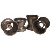 Aluminium Rims Wheels Set Mini / Baby 112-140 mm Top-Kart