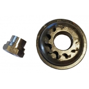 Engine Sprocket Pinion Z10 compatible Rok - RokGP - Super