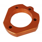 Adjustable axle support anodized aluminum for 30mm bearings