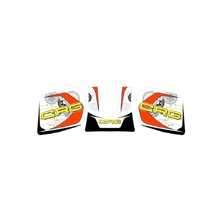 Adesivi serbatoio CRG 3 L Mini, MONDOKART, kart, go kart