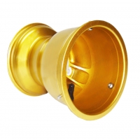 Llanta Trasero Magnesio Mondokart - POSTERIOR GOLD 180mm (RAIN)