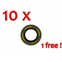 Oil Seal 20x35x7 double-lipped Teflon ARS FPJ - PACK 9 + 1 FREE