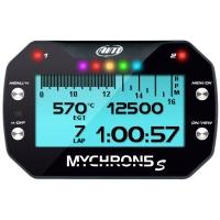 "AIM MyChron 5 Basic - GPS Lap Timer Gauge - With WATER Probe - NEW VERSION ""S"" !"