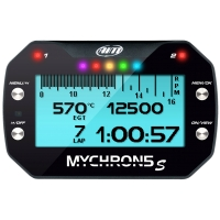 "AIM MyChron 5 Basic - GPS Lap Timer Gauge - With EXHAUST GAS Probe - NEW VERSION ""S"" !"