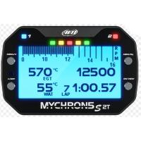 """AIM MyChron 5 2T - GPS (2 températures) Afficheur - Avec Sonde EAU + GAS - NEW VERSION """"S"""" !"""