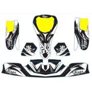 Kit Decò pour carrosserie KG 506 IPK Praga BLACK EDITION