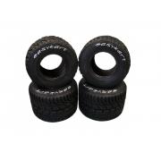 Easykart tires 100/125 Rain, MONDOKART