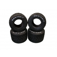 Set Neumáticos EASYKART lluvia 50/60
