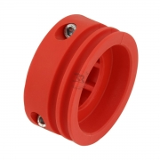 Pulley plastic axle (resin) 40mm, MONDOKART, Accessories for