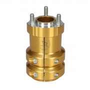 Rear hub anodized aluminum 50 / 115-8, MONDOKART, For KF - KZ