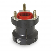 Front / rear wheel aluminum hub 40 / 77-8, MONDOKART, For KF -