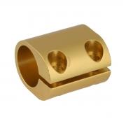 Clamp for 30mm anodized stabilizing bar, mondokart, kart, kart