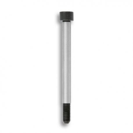 Screw M8x85mm for spindle with flat support, mondokart, kart