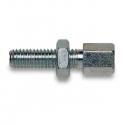 Ajustador Cable M6x30 acelerador - freno - embrague, MONDOKART