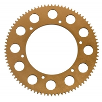 Sprocket Aluminum pitch 219 gold KF 60