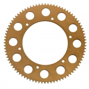 Sprocket Aluminum pitch 219 gold KF 60, mondokart, kart, kart
