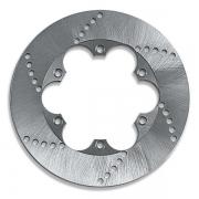Brake Disc 210x8mm (Steel), MONDOKART, Brake Discs Generic