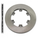 Disc belüftete Hinterradbremse 210x12mm (Gusseisen), MONDOKART